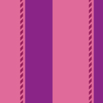 片方のみに細い線を持つ片子持ち縞のパターン