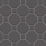 灰色のブロックレンガのようなパターン