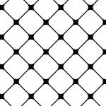白と黒のシンプルな網模様