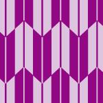 卒業式などでよく着られる紫ベースの矢絣柄パターン
