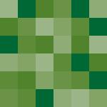 複数の緑の四角で構成されたパターン