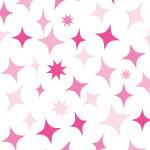 ピンクにキラキラ光るようなイラストパターン