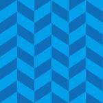水色基調のヘリンボーン柄パターン
