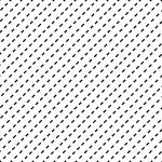 斜めに傾いた破線・点線のパターン