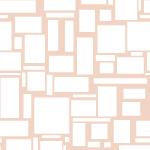 ランダムに四角が並ぶパターン