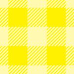 黄色いシェパードチェック柄パターン