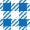 青と白のシェパードチェック柄パターン