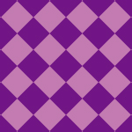 紫色のハーリキンチェック柄パターン