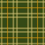 緑基調のタータンチェック柄パターン