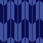 紺色の矢絣柄パターン