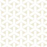 白基調の組亀甲柄パターン