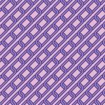 斜めに連なる紫色の鎖のイラストパターン