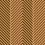 茶色ベースのタイトなヘリンボーン柄パターン