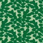 緑の葉っぱが無数に散らばるパターン