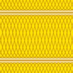揺れるラインが重なりあう幾何学的なパターン