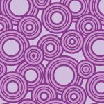 紫色のたくさんのサークルが散らばるパターン