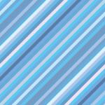 水色基調の細い斜線パターン