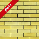 黄色のレンガ写真加工パターン