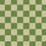 緑色の市松模様パターン