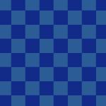 紺色の市松模様パターン