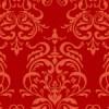 赤色のダマスク柄パターン