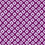 紫色の鹿の子柄パターン