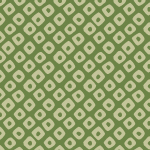 緑色の鹿の子柄パターン