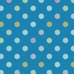 青色系のドット柄パターン