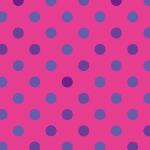 ピンク色のドット柄パターン