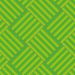 緑色のバスケットチェック柄パターン