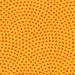 オレンジ色の鮫小紋柄パターン