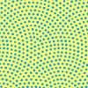 黄色と水色の鮫小紋柄パターン