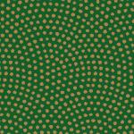 緑と茶色の鮫小紋柄パターン