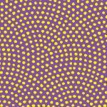 紫と黄色の鮫小紋柄パターン
