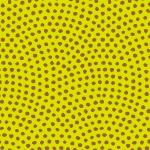 黄緑と茶色の鮫小紋柄パターン