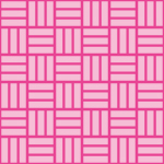ピンク色の網代文様 和柄パターン