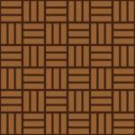 茶色の網代文様 和柄パターン