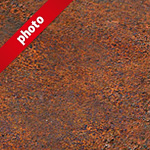 茶色く錆びた鉄の写真加工パターン