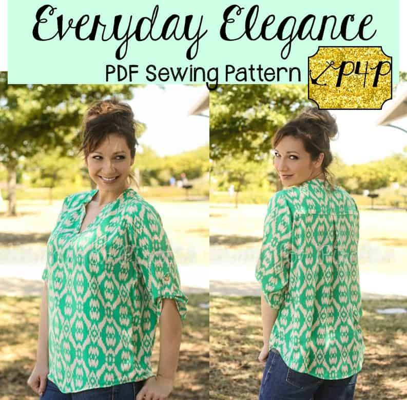 Everyday Elegance Top - Patterns for Pirates