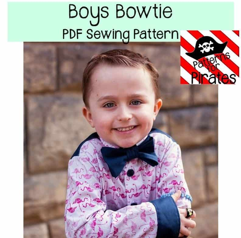 Free Boys Bowtie - Patterns for Pirates