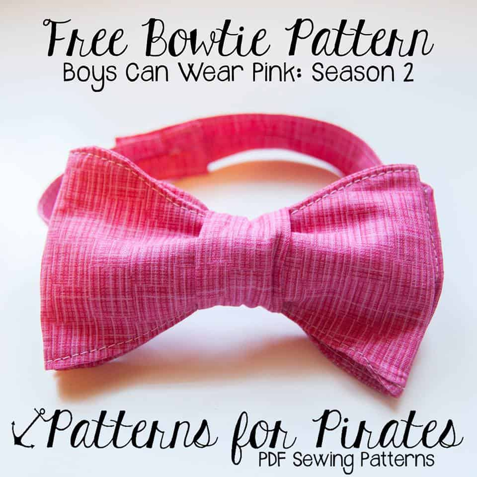 Free boys bowtie patterns for pirates free boys bowtie jeuxipadfo Images