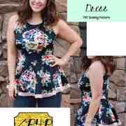sweetheart dress peplum pdf sewing patterns for pirates (21)