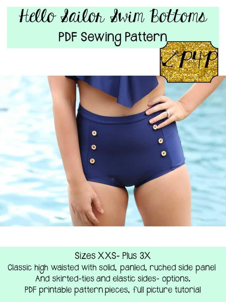 Hello sailor swim bottoms patterns for pirates hello sailor swim bottoms jeuxipadfo Gallery