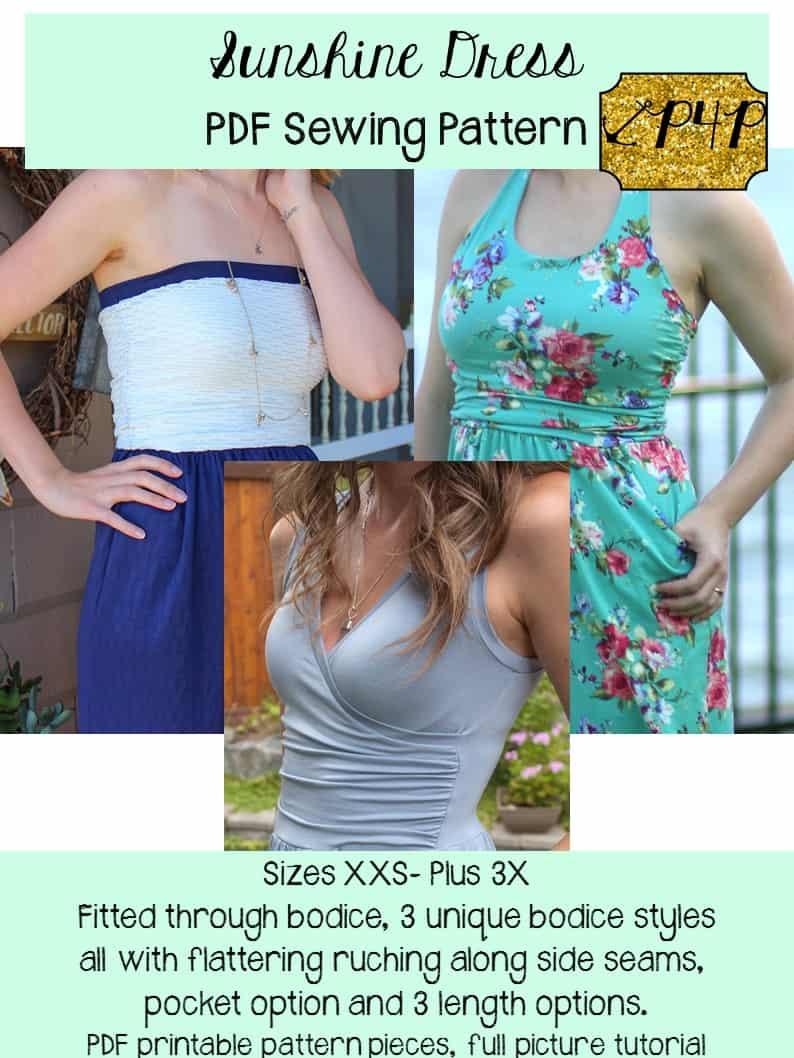 Sunshine Dress - Patterns for Pirates