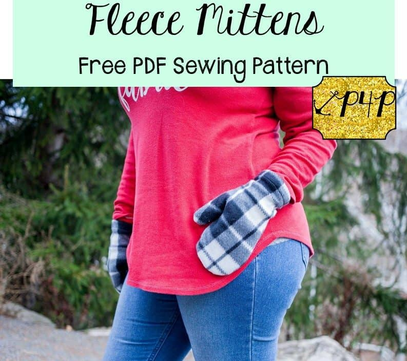 Free Fleece Mittens - Patterns for Pirates