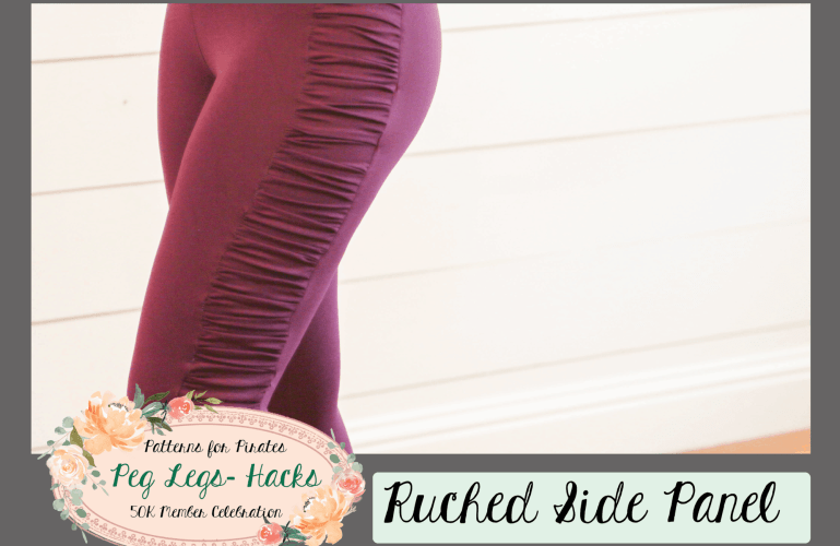 50K Fan Celebration :: Ruched Side Panel Hack