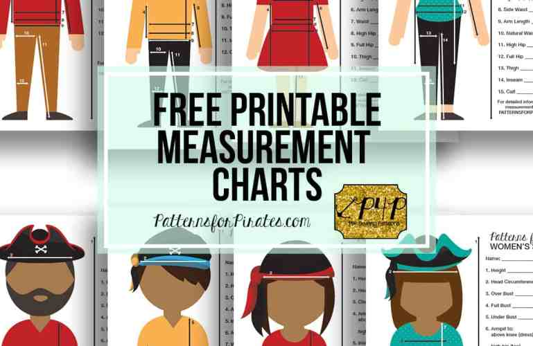 FREE Printable Measurement Charts