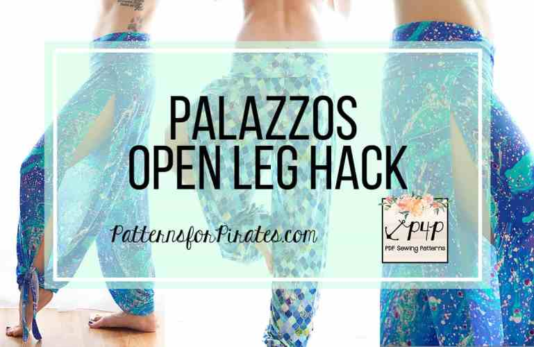Palazzos Open Leg Hack