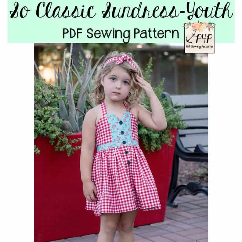So Classic Sundress- Youth - Patterns for Pirates