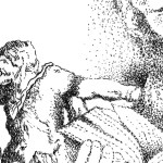 Daniel 1:3-7 illustration by Kitti Touzeau